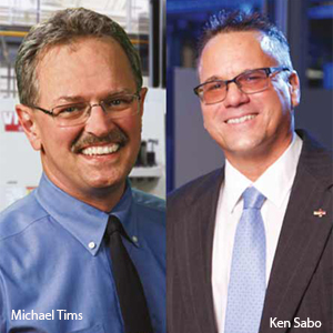 Michael Tims, Advisor Engineer and Ken Sabo, Senior Director, Manufacturing, Concurrent Technologies Corporation