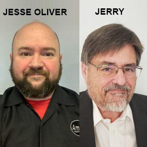 Jerry Koopman, CEO & Jesse Oliver Sr., Amfor Electronics