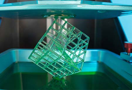 3D-PRINTING OF POLYMERS IS A HUB TO ADDITIVE MANUFACTURING (AM) OF METALS